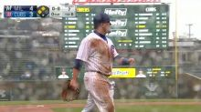 Kyle Schwarber's outfield defense is a roller coaster of emotions