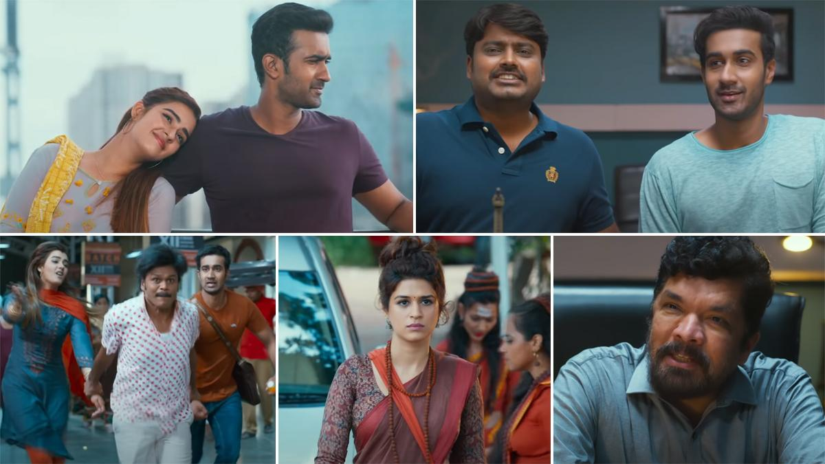 Ek Mini Katha Trailer: Santosh Shoban, Kavya Thapar's Film Is a Fun Tale  About Struggles in Life; to Premiere on Amazon Prime Video From May 27  (Watch Video)