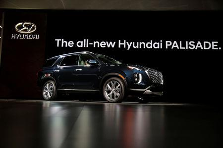 Hyundai Readies Palisade Large Suv In Another Shot At U S Market