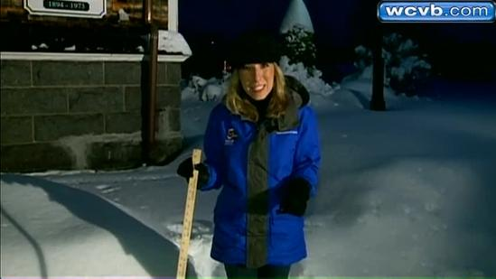 Residents shovel out in Canton