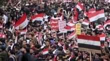 Decenas de miles de iraquíes exigen salida de tropas de EEUU