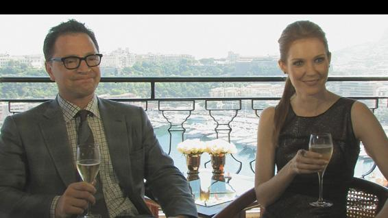 'Scandal': Joshua Malina and Darby Stanchfield Are All About The Laughs