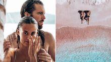 Was dieses Instagram-Pärchen am Strand vorfindet, erschüttert das Netz
