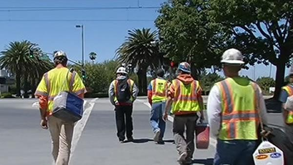 Levi's Stadium workers process co-worker's death