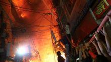 Blaze engulfs Bangladesh buildings