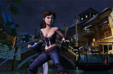 Become Death's daughter in Venetica: new PC, Xbox 360 RPG