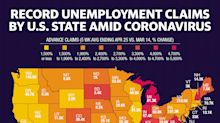 Coronavirus job losses hit these 7 states hardest