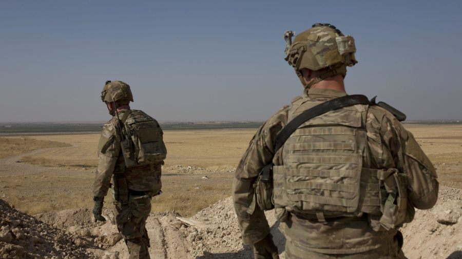 U.S. troops leaving Syria headed to western Iraq
