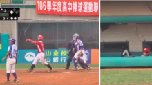 High school baseball player unleashes giant bat flip ... on a foul ball
