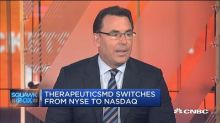 TherapeuticsMD CEO on the switch to Nasdaq from NYSE