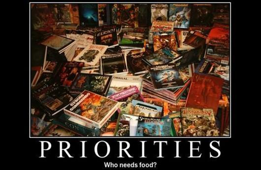 The Daily Grind: Where does gaming fall on your priority list?