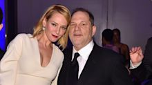 Uma Thurman lashes out at Harvey Weinstein in new post