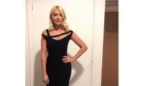 Holly Willoughby cements status as nation's fashion darling in dramatic evening gown