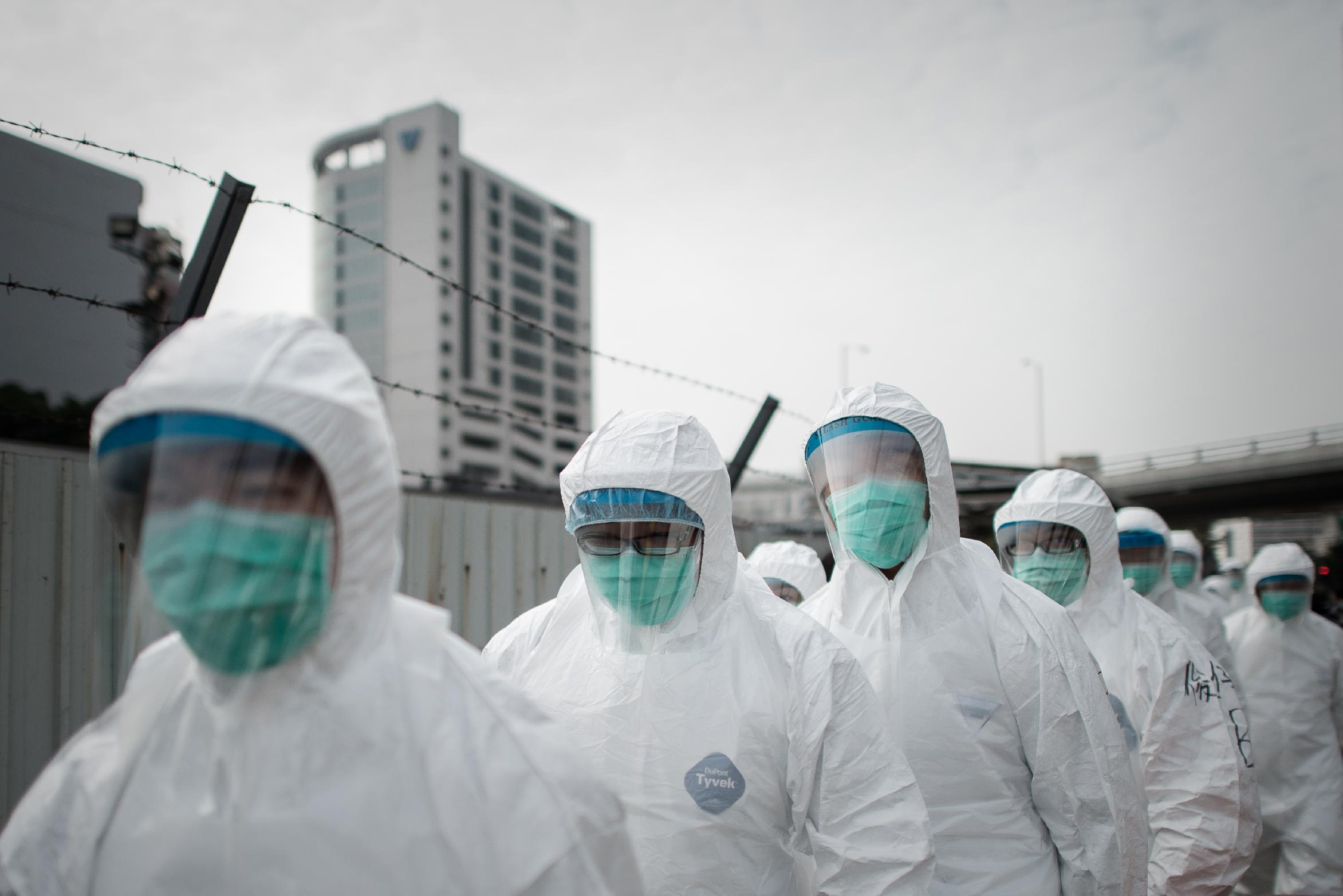 Legacy of SARS in Asia offers lessons for Ebola fight