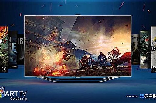 Gaikai's cloud gaming beta arrives on cue to high-end Samsung Smart TVs