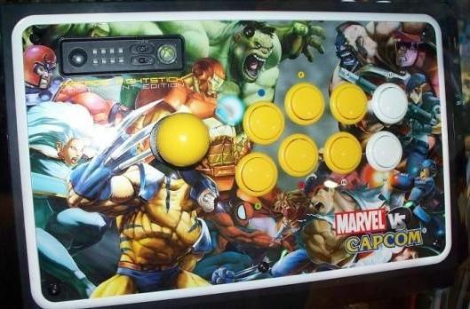 Marvel vs. Capcom 2 FightStick, other new Mad Catz fighting peripherals spotted at GameStop conference