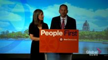 Saskatchewan election 2020: NDP Leader Meili addresses voters, says election is about 'what we can achieve together'