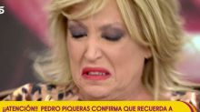 Lydia Lozano rompe a llorar en 'Sálvame' cuando le transmiten este mensaje de Pedro Piqueras
