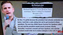 MSNBC confuses ex-Trump Navy secretary and infamous white supremacist
