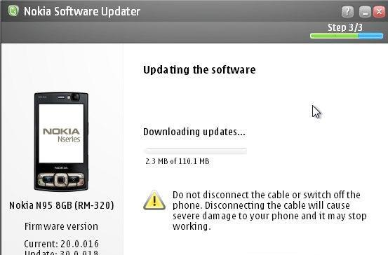 N95 8GB gets hooked up with firmware v30, too -- just two more N95s to go
