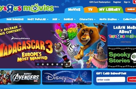 Toys R Us launches family-friendly internet movie service, plans Tabeo access, HD video and more