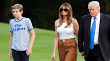 Did Barron Trump Just Become A Style Muse?