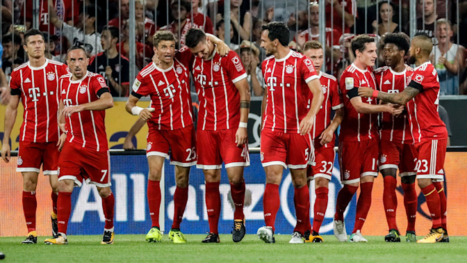 Bayern begins Bundesliga season in style