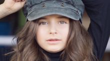 Eight-year-old model from Texas makes her runway debut at New York Fashion Week