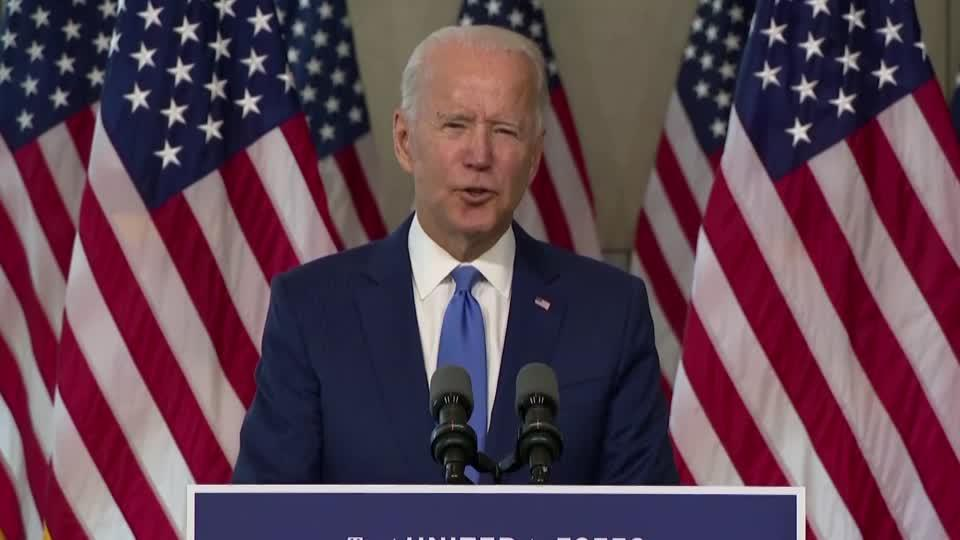 Trump's strategy 'exercise in raw political power' -Biden [Video]