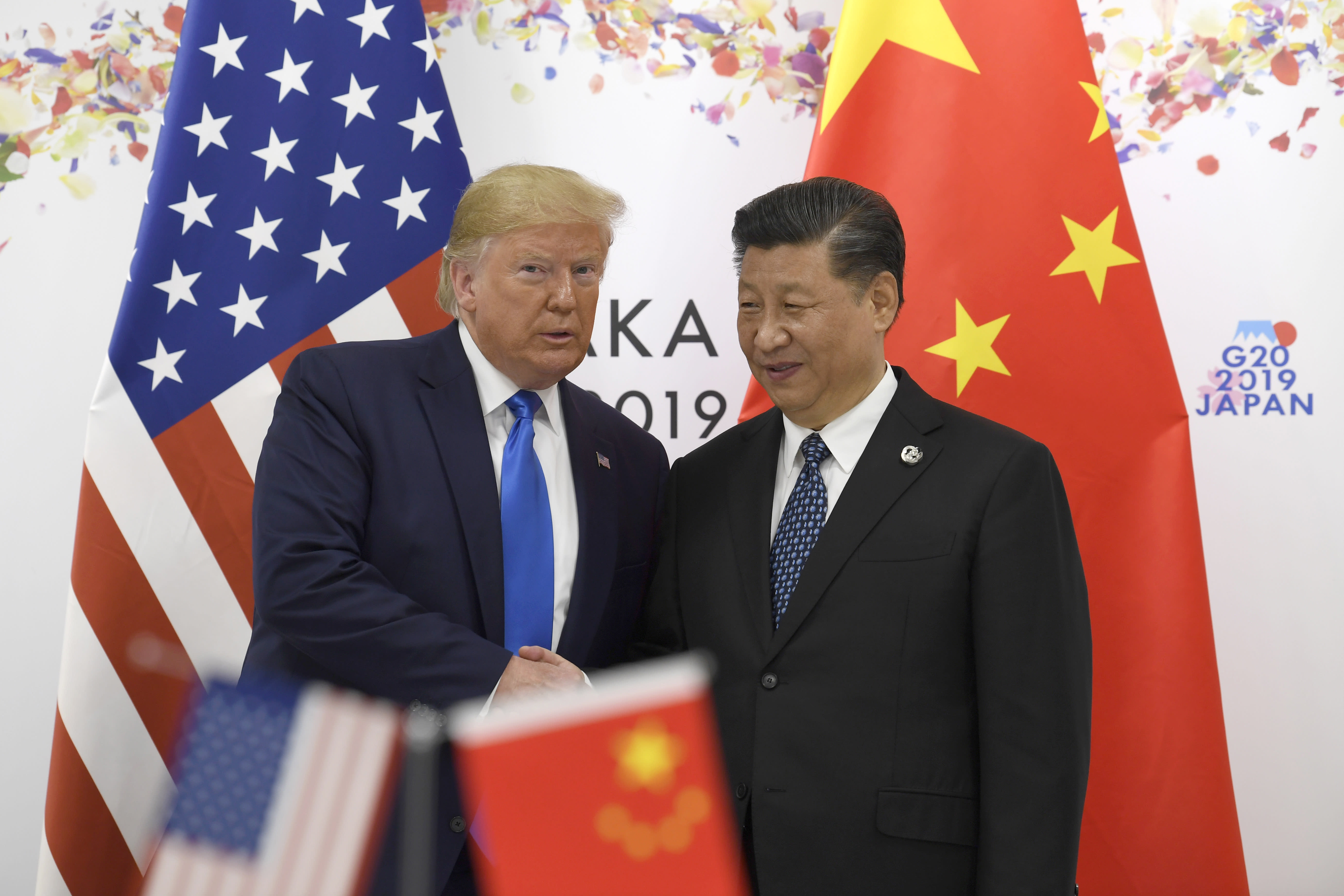 Trump's trade war with China is freaking out Wall Street's biggest players — here's how you can tell