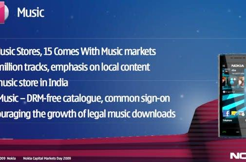 Nokia Ovi Music store slowly shedding its DRM shackles globally