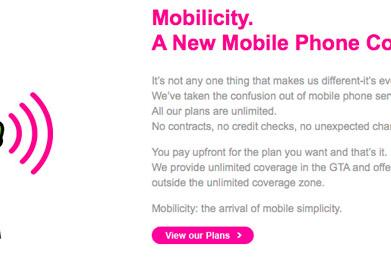 Mobilicity launches service in Toronto: all plans unlimited, no contracts to speak of