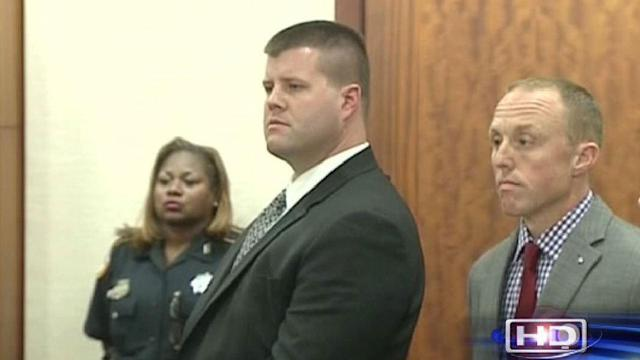 Convicted former officer requests new trial