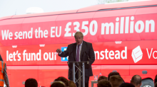 Boris Johnson warned he could face private prosecution over £350m Brexit bus claim