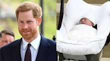 Prince Harry treats Prince Louis to £8,000 christening present