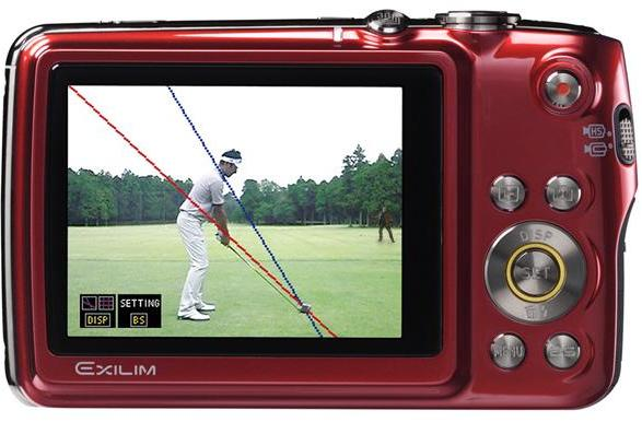 Trust in Casio's Japanese Exilim EX-FS10S, it'll turn your bogeys into birdies