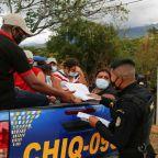 Guatemala turns more migrants back to Honduras, thinning U.S.-bound caravan