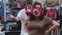2 shoppers were barred from Walmart after wearing swastika face masks in a Minnesota store