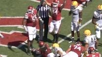 Arkansas runs away from Southern Mississippi