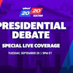 How to watch the presidential debate live tonight