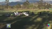 Un bebé fue el único sobreviviente de accidente aéreo
