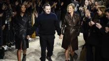 Stars give Vuitton designer Kim Jones rousing send-off