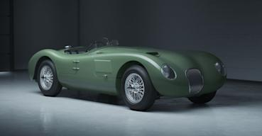 Jaguar公布經典跑車C-type再造計劃 還能在官網自訂車身內外顏色組合