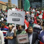 Palestinians protest Trump's Mideast peace conference