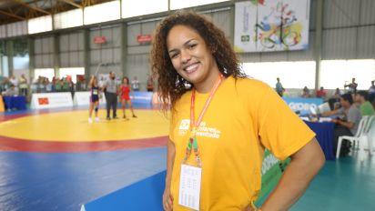 Atleta, agente social e cartola, Aline Silva coloca o wrestling brasileiro no mapa