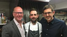 Louis 'The Sous' Theroux Helps With Kitchen DutiesAt Top Celebrity Haunt Pied A Terre