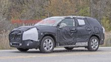 Chevy Blazer spied in three-row guise