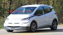 Chevy Bolt EV autonomous prototype spied with driver on the phone