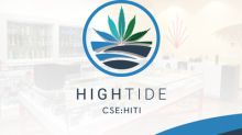 High Tide Exceeds $797,000 in Systemwide Retail Cannabis Store Sales for the 3-Day Period Celebrating the First Anniversary of Legalization