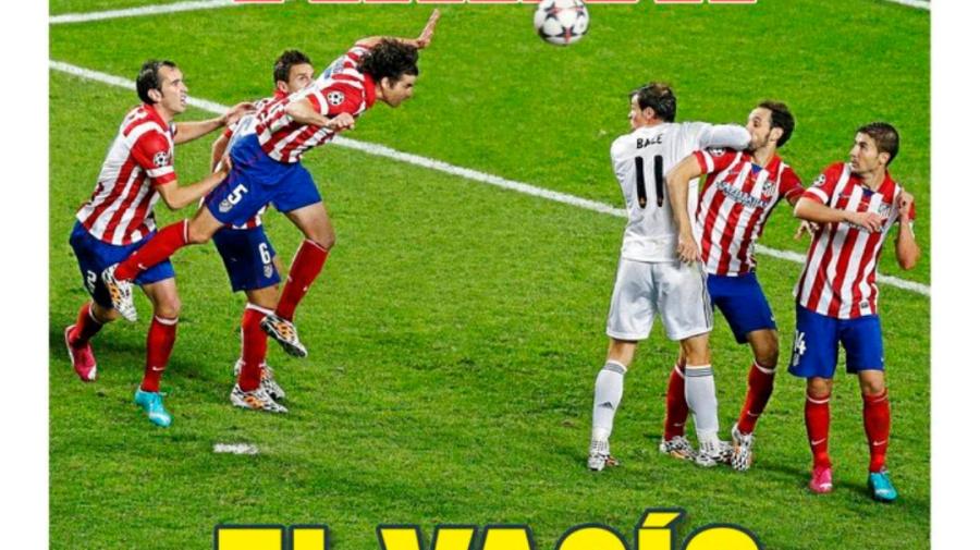 'Marca' homenajea a Sergio Ramos en su portada, pero le sale mal